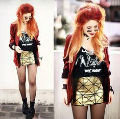 Black Milk Clothing Skirt, Vow T Shirt