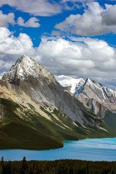 How to take better landscape pictures  Bald Hills - Maligne Lake - Jasper National Park - Alberta - Canada.JPG