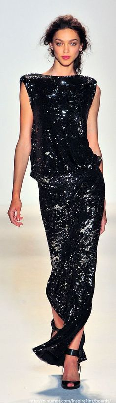 Rachel Zoe 2014......model it! Akia GIRL!  :)....wear this at your reception from all white to all black BLING! nice :)