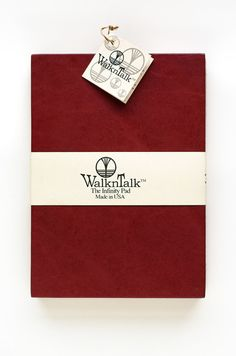 Leather Sketch Pad Refillable The Infinity Pad 5x7 by WalknTalk, $35.00