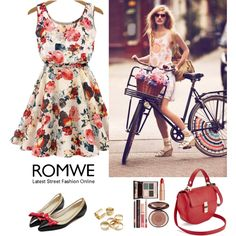 Romwe 10 by amra-f on Polyvore featuring moda and Charlotte Tilbury