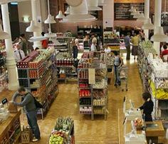 Food Hall at Fallon & Byrne ~ Dublin Food Court Design, Dublin Travel, Plan My Trip, Fine Wine, Ireland, Meals, Forests, Wanderlust, Shops