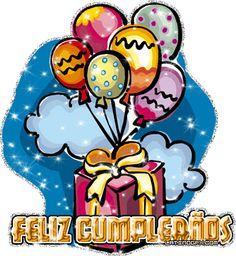 Feliz Cumpleaños: Globos con regalo