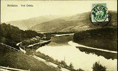 Sør-Trøndelag fylke Meldal kommune MELDALEN, ved Orkla. Oversikt med forsidefrankering stemplet 1921 Utg A.Røske