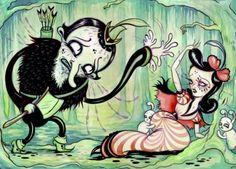Illustration by Camille Rose Garcia