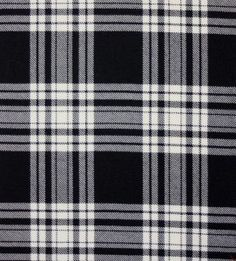 Menzie Black and White Tartan. Strome Heavy Weight Fabric from Lochcarron of Scotland, sold by the metre. 500-515gm per linear metre 138 cm wide. . . Sold by TartanPlusTweed.com A family owned kilt and gift shop in the Scottish Borders