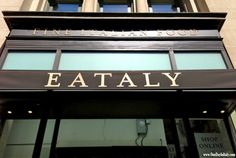 """Italy Around the World: One Day In """"Eataly"""" - I was in New York this past weekend for an award show and what else would I do in Manhattan with a few open hours except find my way to NYC's Eataly? I know what you're thinking - """"Eataly? That sounds like some American tourist trap"""" - but you'd be wrong! Eataly was actually started IN Italy BY an Italian man named Oscar Farinetti. Explore """"Eataly""""'s food and restaruants with me today on the blog!"""