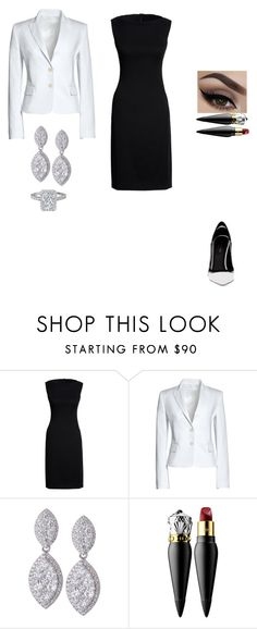 """""""Paint Your Look With Canvas by Lands' End: Contest Entry"""" by insafsat ❤ liked on Polyvore featuring Canvas by Lands' End, Christian Louboutin and Greymer"""