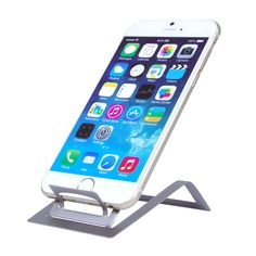 The Metalix™ is made from brushed premium stainless steel, which makes this stand an excellent high end executive desk item. The Metalix™ Stand ships flat, and with three easy bends, is ready for use! #HandStands #BeImpressed
