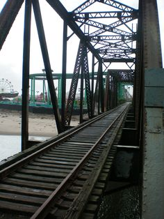 The train trestle, over the San Lorenzo River, was a used in lostboys the movie