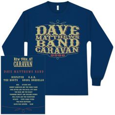 Long-Sleeved Tee - Dave Matthews Band