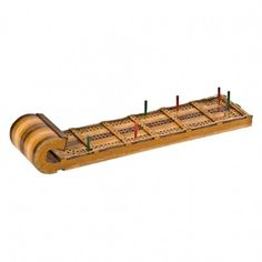 Toboggan Cribbage Board