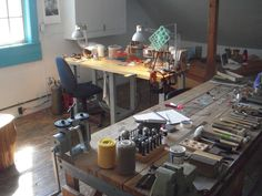 Jewellery Maker's workstation... Another Mom Cave