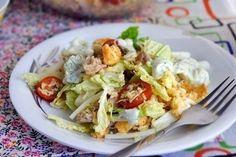 "Russian salad ""Caesar"" - http://wonderdump.com/russian-salad-caesar/"