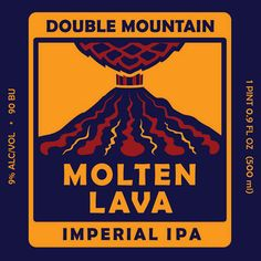 Double Mountain Brew Pub, OR Molten Lava Imperial IPA