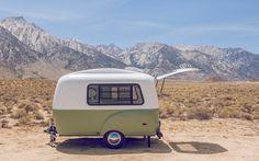 Esta caravana permite disfrutar de todo el confort en muy poco espacio y con mucho estilo
