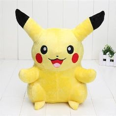 33cm Pikachu Plush Cute Elf Pokemon Soft Stuffed Toys for The Best Xmas Gift