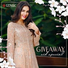 ✨✨TIME TO WIN!✨✨ Here's your chance to win an outfit from our Iznik Luxury Chiffon! 1. Tag 10 Friends! 2. Share! 3. Comment: Describe Eid-ul-Adha in 3 words The winner will be announced through a lucky draw. Hurry up!! #timetowin #giveaway #outfit #luxury #chiffon #fashion #pakistanfashion #luxurychiffoncollection #style #iznikfashion #iznik