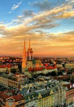 Zagreb is the capital city of Croatia filled to the brim with rich history and wonderful culture. A beautiful place would visit, my friends. Montenegro, Vacation Places, Places To Travel, Travel Destinations, Holiday Destinations, Dubrovnik, Oh The Places You'll Go, Cool Places To Visit, Travel Around The World