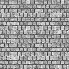 A seamless tiling texture. Illustration of cobblestones Floor Texture, Tiles Texture, Stone Texture, Cobblestone Paving, Paving Pattern, Photoshop, Brick Wallpaper, Seamless Textures, Stone Veneer