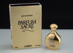 Mini Perfume Bottle CARON 'Parfum Sacre' edp 3ml | eBay