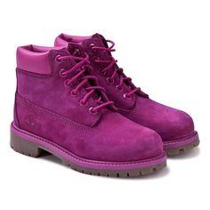 Timberland Kids Pink Classic Lace Boots