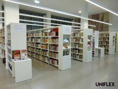 Uniflex Library Shelving