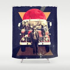 El Camion Shower Curtain