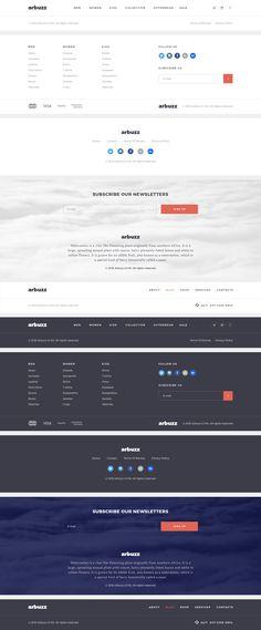 Arbuzz UI Kit by BlaeberryTaem   ThemeForest