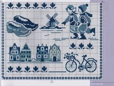 Of course you can Cross Stitch House, Cross Stitch Samplers, Cross Stitch Charts, Cross Stitch Designs, Cross Stitching, Cross Stitch Embroidery, Embroidery Patterns, Cross Stitch Patterns, Delft