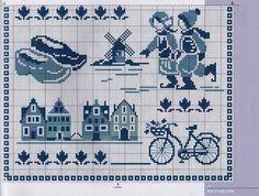 Delft Cross Stitch #2