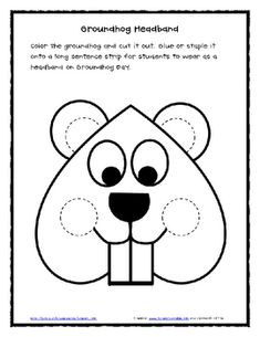 Groundhog Day and Mini Shadow Unit - Lil Country Kindergarten - TeachersPayTeache. Kindergarten Groundhog Day, Groundhog Day Activities, Kindergarten Art, Preschool Projects, Preschool Art, Ground Hog Day Crafts, School Themes, Preschool Activities, Winter Activities