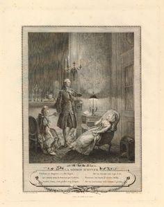 La soirée d'hiver, Jean-Michel Moreau le Jeune