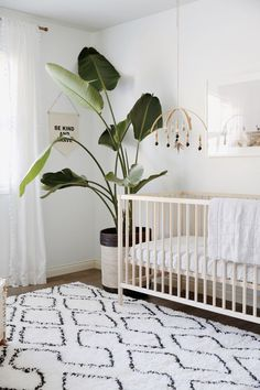 Mary Lauren Nursery >> Major 2018 boho accessories trends coming through in this nursery!