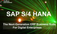 The Next-Generation ERP Business Suite For Digital Enterprises - indusnovateur.com/sap/sap-hana