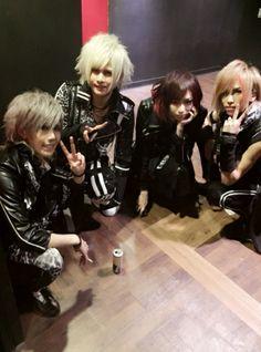 Kuina, Subaru, Koudai, and Tomoya
