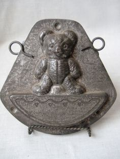 "Anton Reiche Teddy Bear ""Rocking"" chocolate mold"
