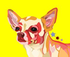 images, little red chihuahua art - Google Search