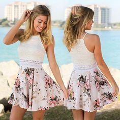 Hot school formal clothes to make mind develop approach, along with minimal and very long looks. Hot school formal clothes to make mind develop approach, along with minimal and very long looks. Spring Formal Dresses, Grad Dresses Short, Formal Dresses For Teens, Hoco Dresses, Homecoming Dresses, Cute Dresses, Short Floral Dress, Casual Dresses, Bridesmaid Dresses