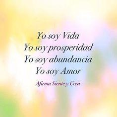 #amor #abundancia #prosperidad #creaturealidad #decretar