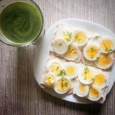 I Foods, Panna Cotta, Eggs, Breakfast, Ethnic Recipes, Morning Coffee, Dulce De Leche, Egg, Egg As Food