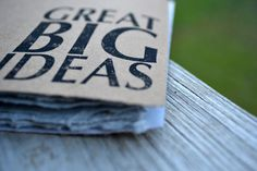 Great Big Ideas Corner Small Notebook  RED BINDING by ActiveHands