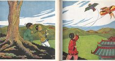 "The beautiful illustrations in the ""Children of Many Lands"" books"