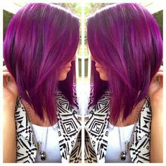 How I want to cut my hair.. not really the color, it's pretty, but this cut.