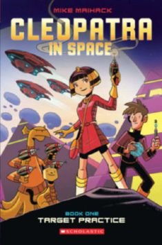 A funny, action-packed graphic novel featuring fifteen-year-old Cleopatra--yes, THAT Cleopatra--who's transported to the future and learns it's up to her to save the galaxy!When fifteen-year-old Cleopatra (yes, THAT Cleopatra) finds a mysterious tablet that zaps her to the far, REALLY far future, she learns of an ancient prophecy that says she is destined to save the galaxy from the tyrannical rule of the evil Xaius Octavian. She enrolls in Yasiro Academy, a high-tech school with classes like al Cleopatra, 3rd Grade Books, Comic Book Tattoo, Quiz Names, All American Boy, Combat Training, Space Books, Target Practice, Manga Books
