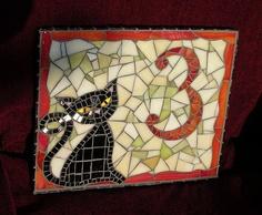 House number plaque by stiglice - Judit, via Flickr