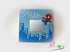 Spiderman Pasta, Spiderman Man, Clay Crafts, Diy And Crafts, Decoupage, 3d Frames, Marble Art, Creative Art, Chibi