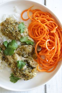 Easy Braised Chicken Drumsticks in Tomatillo Sauce (Instant Pot, Slow ...
