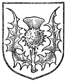Fig. 493.—Thistle. Date 1909 Source A Complete Guide to Heraldry. Author [show]Arthur Charles Fox-Davies oktouse