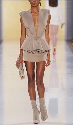 Alexandre Vauthier Fall 2012 Couture volado !